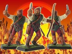 Woodmen Archer Defending