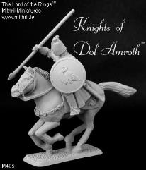 Dol Amroth Knight - Mounted, Attacking w/Spear