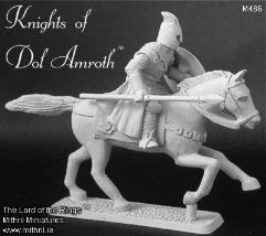 Dol Amroth Knight - Mounted w/Lowered Spear