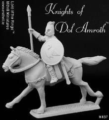 Dol Amroth Knight - Mounted w/Spear Upright