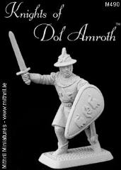 Dol Amroth Sergeant w/Raised Sword