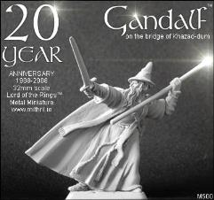Gandalf on the Bridge of Khazad-Dum (20th Anniversary 1988-2008, Limited Edition)