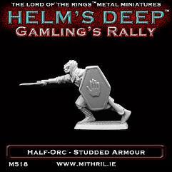 Half-Orc w/Studded Armor & Sword