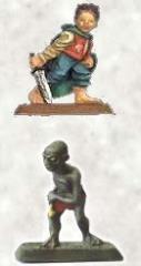 Bilbo Baggins & Gollum