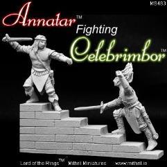Annatar Fighting Celebrimbor