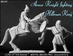 Arnorian Knight Fighting Hillman King