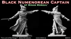 Black Numenorean Captain of Minas Morgul