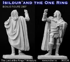 Isildur and the One Ring (MS534)