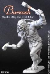 Burzash - Olag-Hai Troll Chief (Limited Edition)