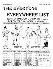 Everyone Everywhere List, The (2nd Edition)