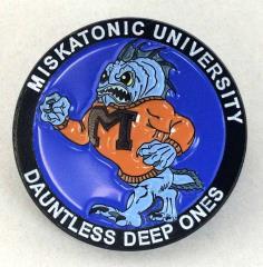 Miskatonic University Deep Ones Enamel Pin