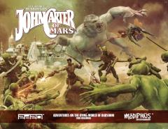 Adventures on the Dying World of Barsoom - Core Rulebook