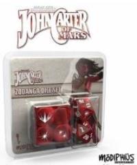 John Carter of Mars - Zodanga Dice Set (Set of 6)