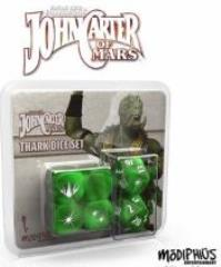 John Carter of Mars - Thark Dice Set (Set of 6)