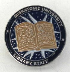 Miskatonic University Library Staff Pin
