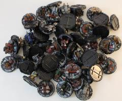 Mechwarrior AFV & Infantry Collection - Commons & Uncommons, 50 Figures!