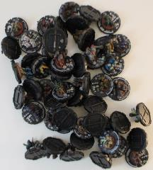 Mechwarrior Infantry Collection - Commons & Uncommons, 50 Figures!