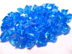 Blue Gaming Counters (50)