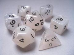 Poly Set White w/Gold (7)