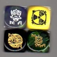 Metamorphosis Alpha Dice Set (4) (Kickstarter Exclusive)
