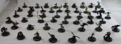 Mage Knight Common Collection - 50 Figures!
