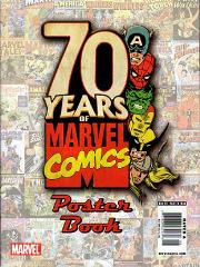 70 Years of Marvel Comics Poster Book