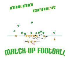Mean Gene's Match-Up Football (2016 Teams)