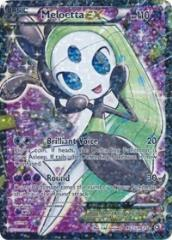 Meloetta EX (Full Art) (Ultra R) #RC25 (Holo)