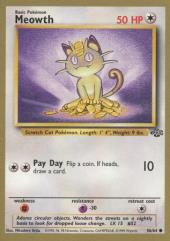 Meowth (C) #56 (Gold Bordered Rare)
