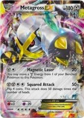 Metagross EX (Shiny) (P) #XY34 (Holo)