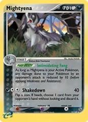 Mightyena (10) (HR) #10 (Holo)