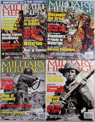 Military Heritage Magazine Collection #4 - 5 Issues!