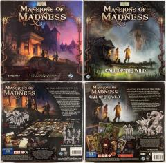 Mansions of Madness 1st Edition Collection #4 - Base Game + 2 Expansions!