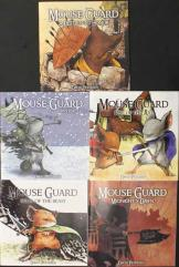 Mouse Guard Collection - 5 Issues!