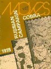 """#36 """"1918, Russian Campaign, Cobra"""""""