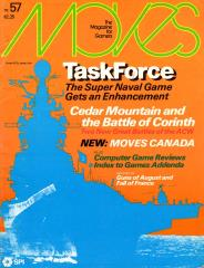 "#57 ""Super TaskForce, Cedar Mountain, Corinth"""