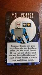 Mr. Freeze Promo Card