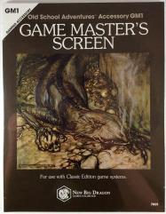 Classic Edition Game Master's Screen