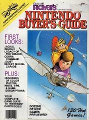 """Vol. 1, #1 """"Zelda II, Cobra Command, Joust"""""""