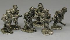 Afrika Korps Rifle Squad - Advancing