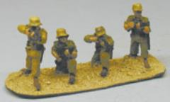 Afrika Korps Rifle Squad - Skirmishing