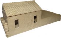 Stucco Outbuilding w/Courtyard