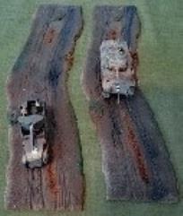 """Dirt Road - 10"""" Curve"""
