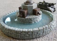 Octagon Fountain