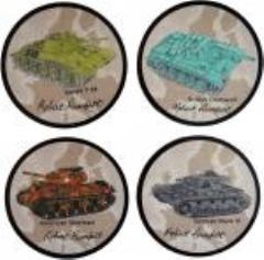 Coaster Set - Tank