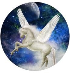 Coaster Set - Yashiana Sky Unicorn