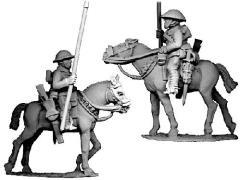 British Cavalry w/Lances