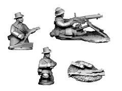 Belgian 1914 - Belgian Maxim HMG w/Carabiner Crew