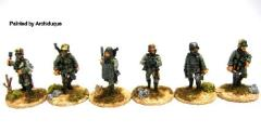 German Trench Raiders