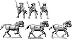 Mounted Dragoons in Hats